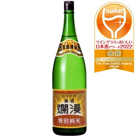 特別純米酒 1.8L