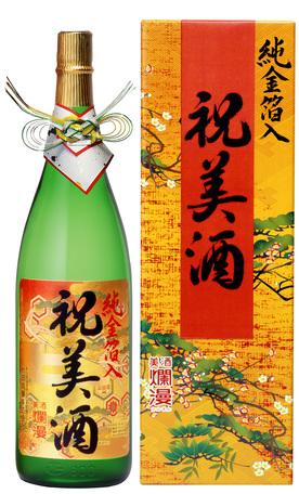 純金箔入り 祝美酒 1.8L